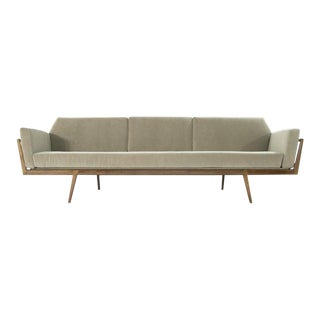 Mel Smilow for Smilow-Thielle Rail Back Sofa For Sale