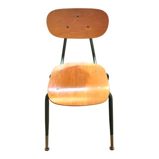 Vintage Mid Century Bentwood State College Desk Chair For Sale