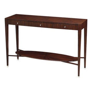 Scarborough House Sleek Rosewood Console Table For Sale