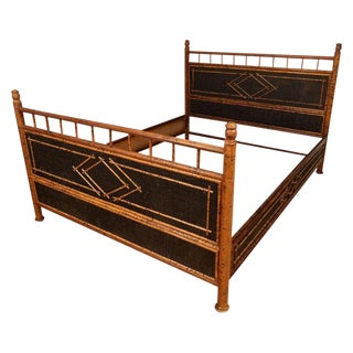 Faux Bamboo Bed Frame For Sale
