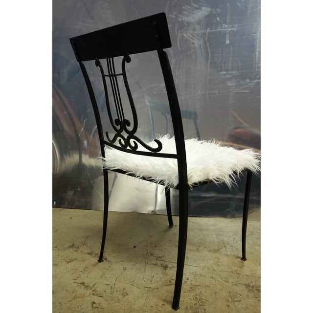 Wrought Iron Musical Chairs - A Pair - Image 5 of 6