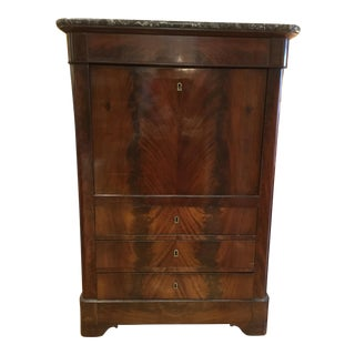 19th Century Louis-Philippe Secretary Desk For Sale