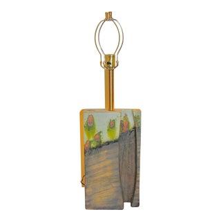 Fantoni Ceramic Lamp For Sale