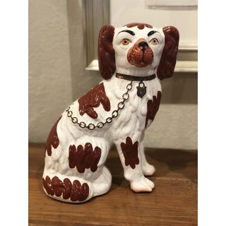 Staffordshire Dogs English Ware Figurines - a Pair Preview