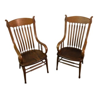 1930 Adirondack Lodge Chairs- A Pair For Sale