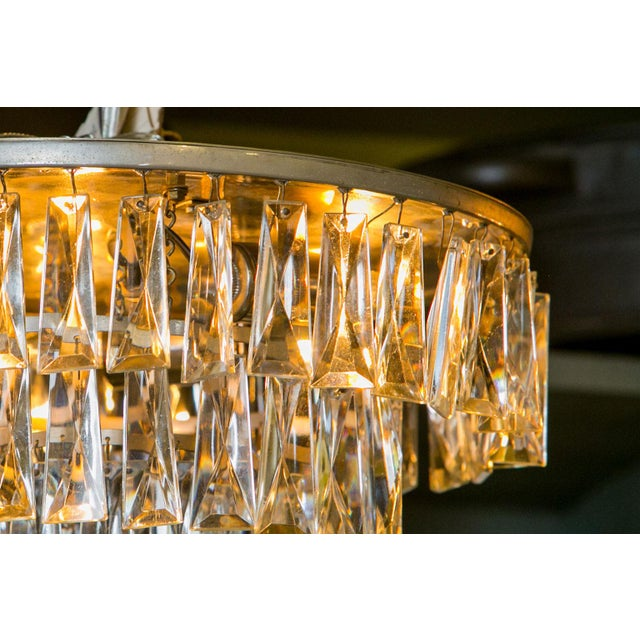 1950s Vintage French Chandelier For Sale - Image 5 of 6