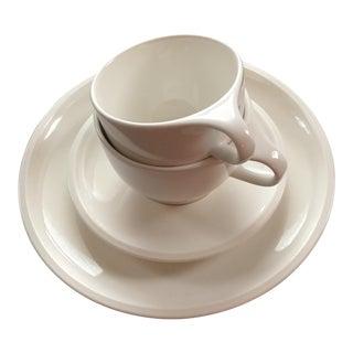 Villeroy & Boch Artesano White Premium Porcelain Plates & Cups - Set of 4