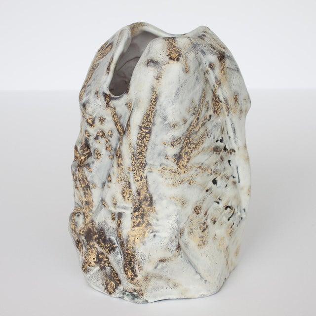 Marcello Fantoni Brutalist Ceramic Vase - Image 5 of 10