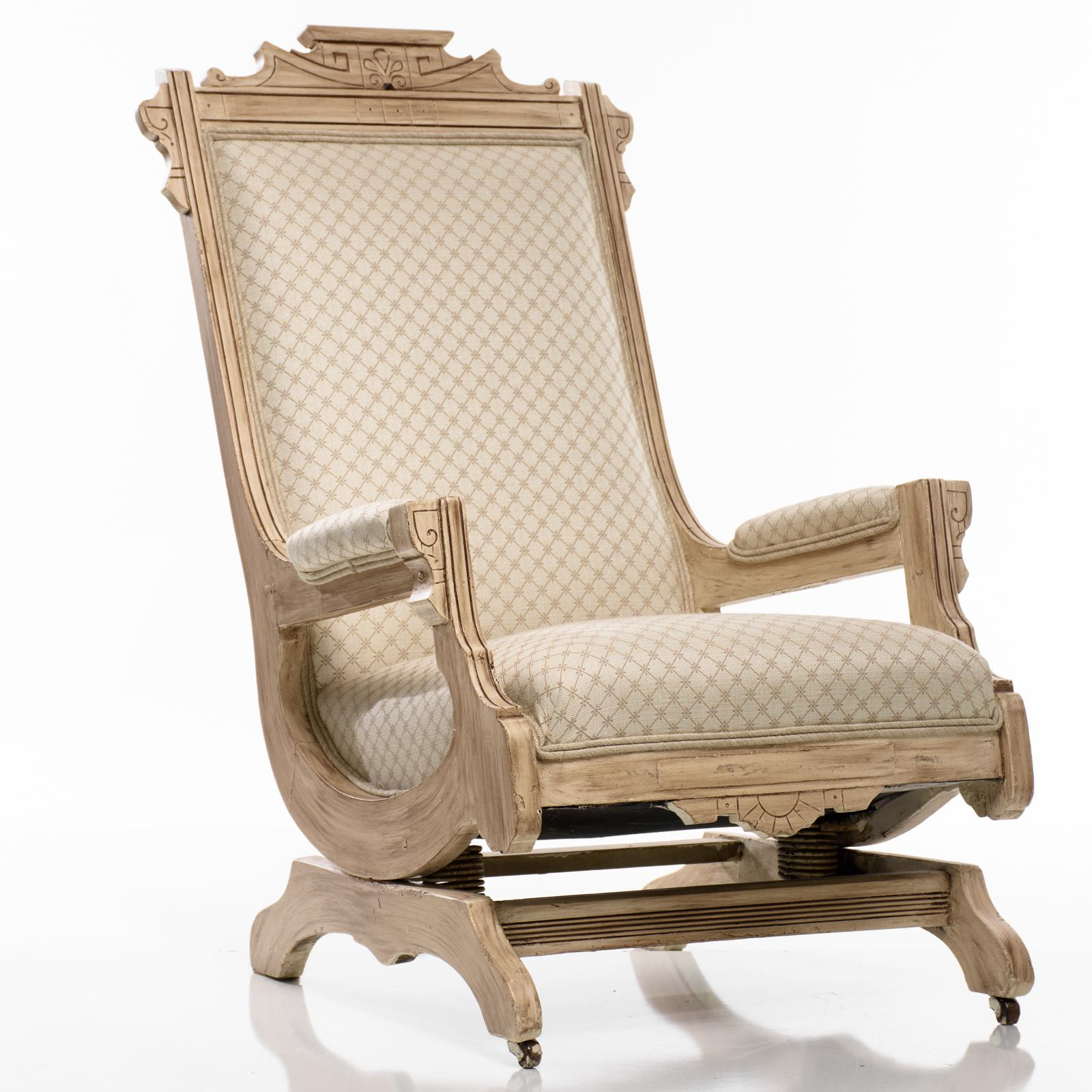 Attirant Antique Platform Rocking Chair Beautifully Detailed Wood. The Chairu0027s Frame  Is Very Solid And Has