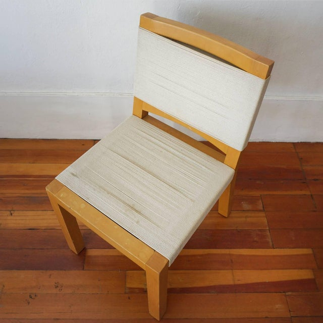 Mid 20th Century String Chair by Van Keppel Green of Beverly Hills For Sale - Image 5 of 8