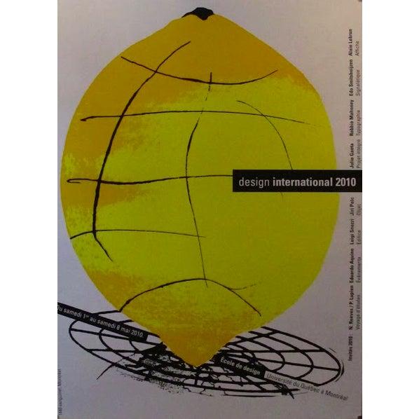Contemporary 2010 Original Poster Design International - Alfred Halasa For Sale - Image 3 of 3