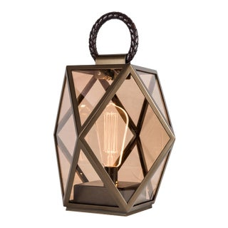 Contardi Muse Battery Outdoor Lantern Small For Sale