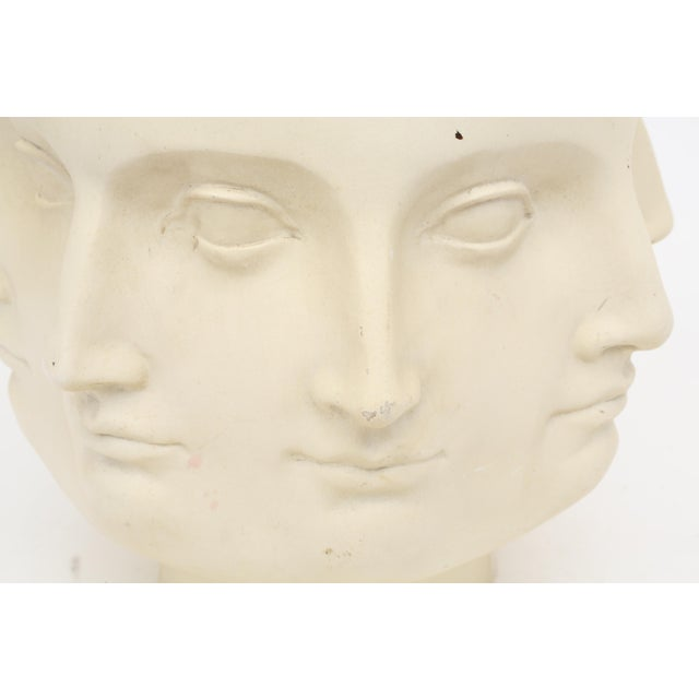 2005 TMS Fornasetti Style Perpetual Dora Mara Face Vase For Sale In Los Angeles - Image 6 of 7