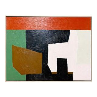 "Exclusive John O'Hara ""The Living Room"" Encaustic Painting"