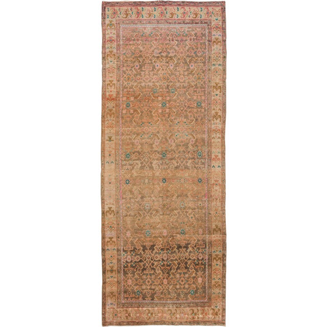 """Apadana - Vintage Persian Rug, 4'8"""" x 12'6"""" For Sale In New York - Image 6 of 6"""
