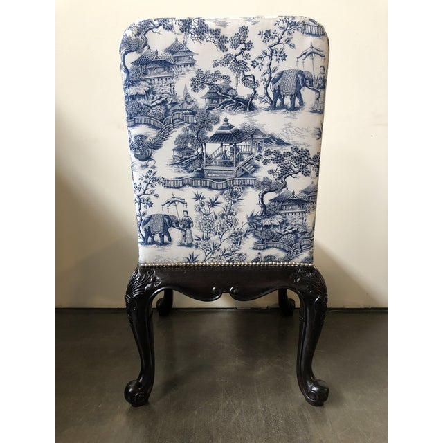 Georgian Ralph Lauren Home Bel Air Dining Side Chairs - a Pair For Sale - Image 3 of 12