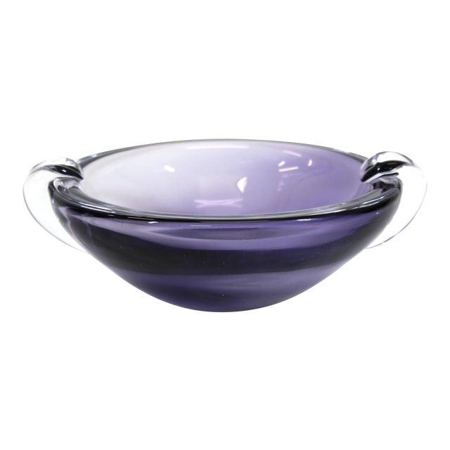 Kristaluxus Mid-Century Modern Glass Bowl For Sale