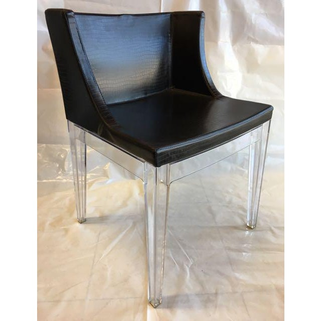 philippe starck for kartell mademoiselle cocco chairs a pair