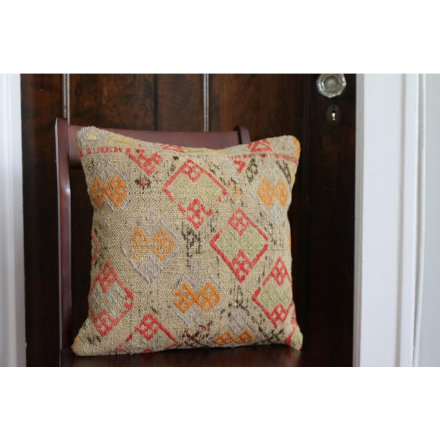 Handmade Kilim Pillow Cover - Image 5 of 5