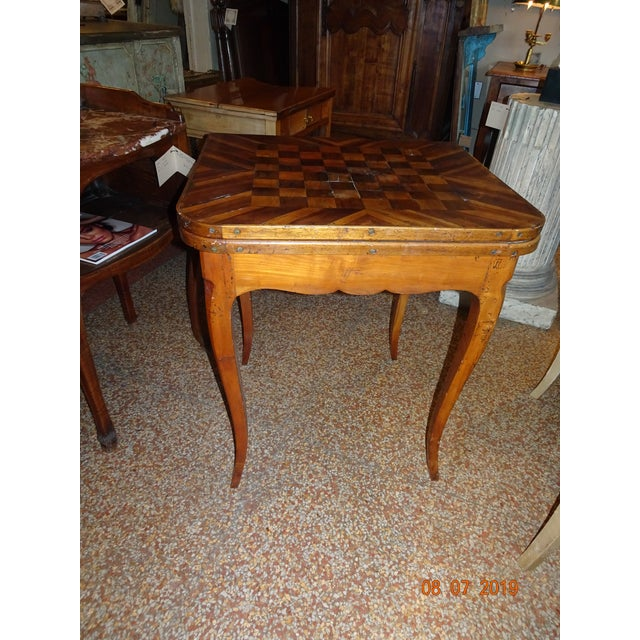 18th Century French Game Table For Sale - Image 9 of 9