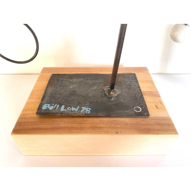 Metal 20th Century Abstract Constructivist Sculpture For Sale - Image 7 of 9