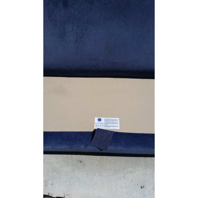 Blue Ethan Allen Couch - Image 3 of 3