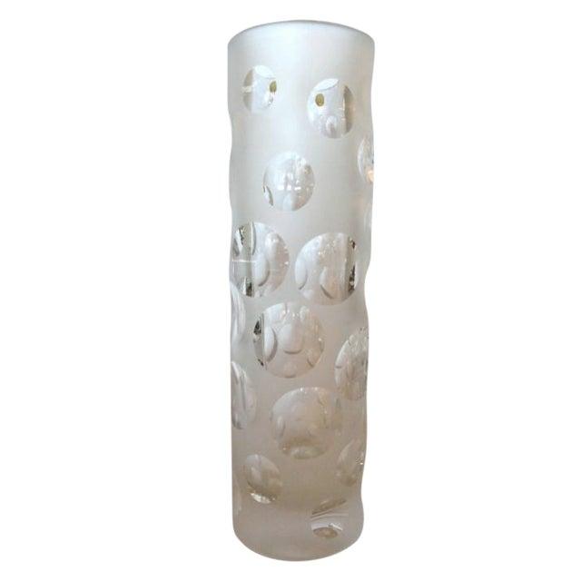 French Lead Crystal Vase Chairish