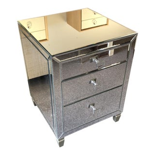 Caracole Mirrored Nightstand For Sale