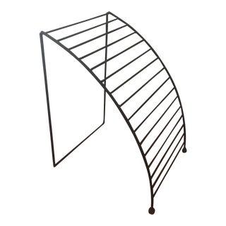 Post Modern Bookmark Magazine Rack For Sale