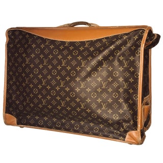 1970s Vintage Louis Vuitton Garment Bag For Sale