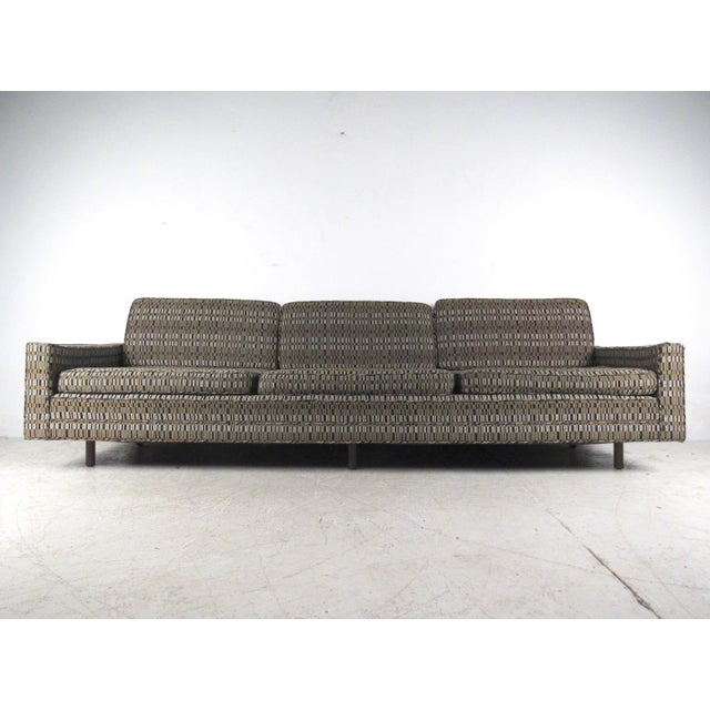 This impressive oversized sofa by Harvey Probber makes a stylish mid-century addition to any interior, offering spacious...