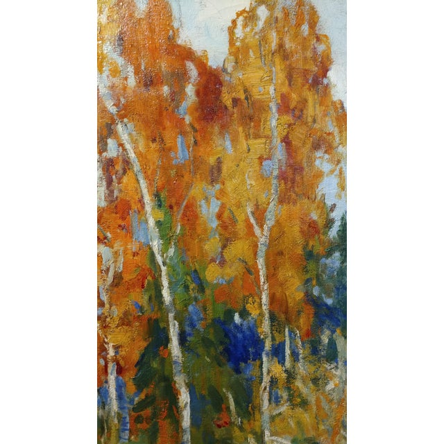 Isabel Hunter - Beautiful Carmel Landscape-California Impressionist-Oil painting For Sale In Los Angeles - Image 6 of 10