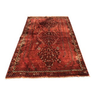 "Vintage Persian Gabbeh Rug - 4'6"" x 7'2"" For Sale"