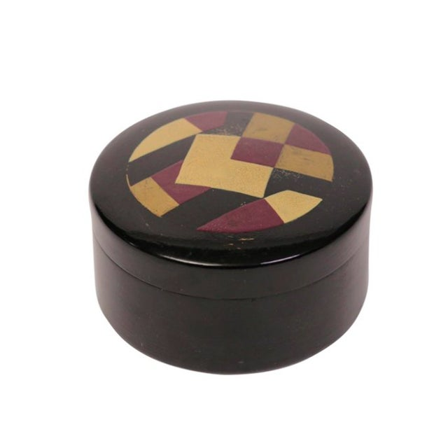 French Cubist Design Box - Image 1 of 3