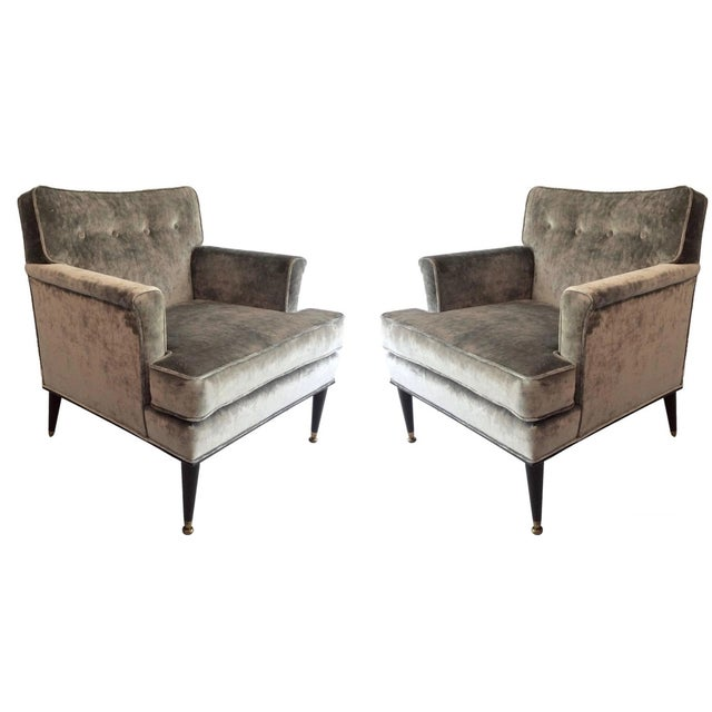 Mid-Century Probber Attr. Lounge Chairs - Pair - Image 1 of 10