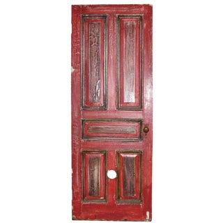Antique Five Panel Oak Door