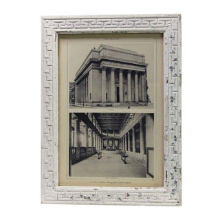 Original Framed Bank of Montreal Photo Circa 1911 For Sale