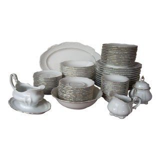 Hertel Jacob Bavarian China - 76 Pieces Service for 12 For Sale