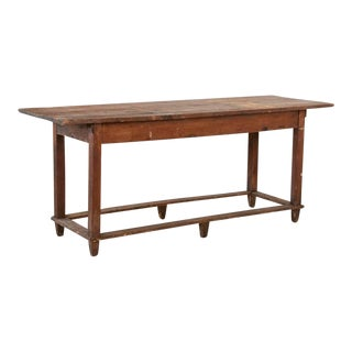 Antique Rustic Farm Work Table For Sale