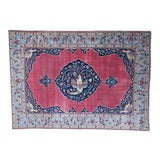Image of Early 20th Century Antique Persian Tabriz Rug - 9′ × 12′9″ For Sale