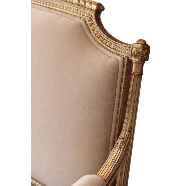 Gilded French Settee For Sale In Houston - Image 6 of 10