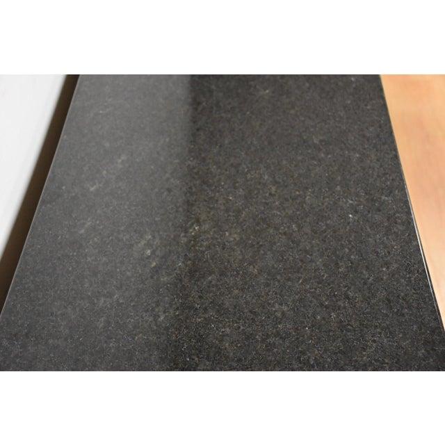Walnut & Black Granite Credenza - Image 8 of 11