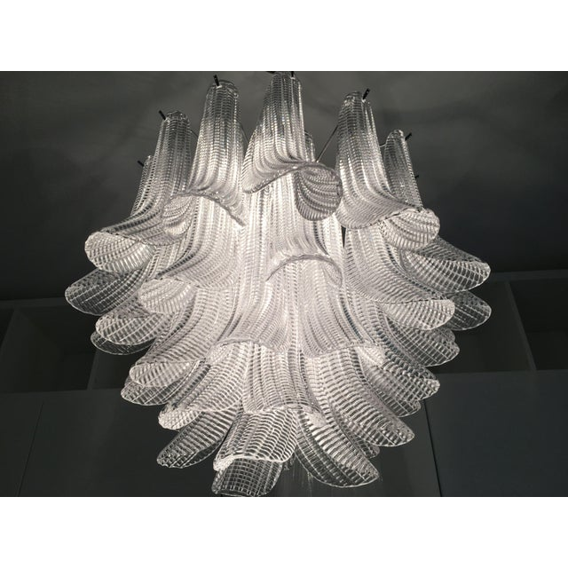 "Modern Murano Glass ""Selle"" Sputnik Chandelier For Sale - Image 9 of 11"