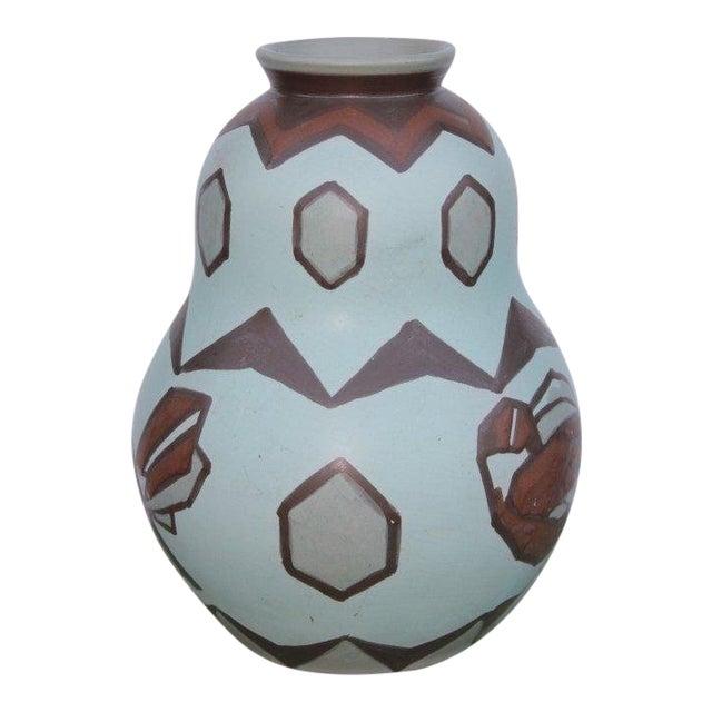 Villeroy and Boch Bird Motif Vase For Sale