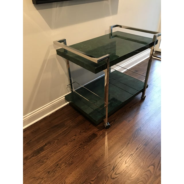 Maddox Maln Bar Cart For Sale - Image 12 of 13