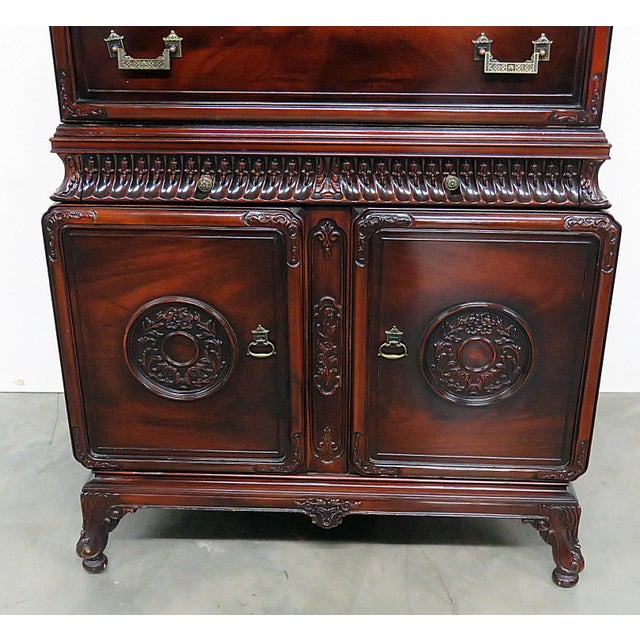 Chinese Chippendale Style Highboy For Sale - Image 4 of 11