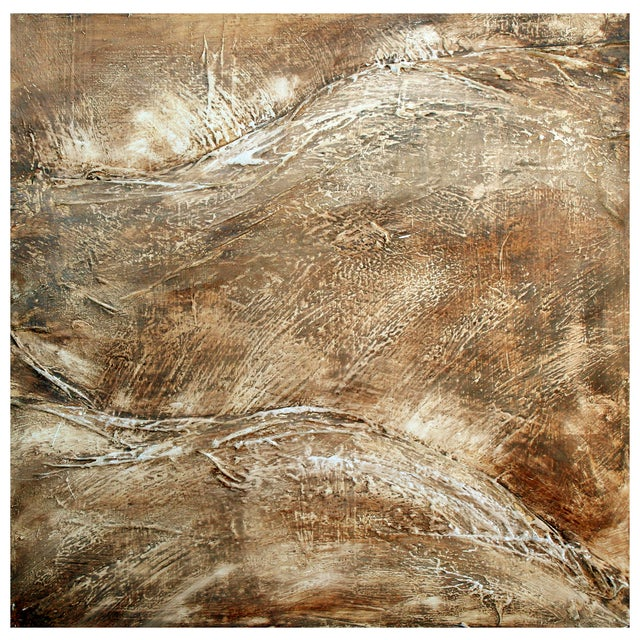 Abstract Painting of Rolling Hills - Image 1 of 2
