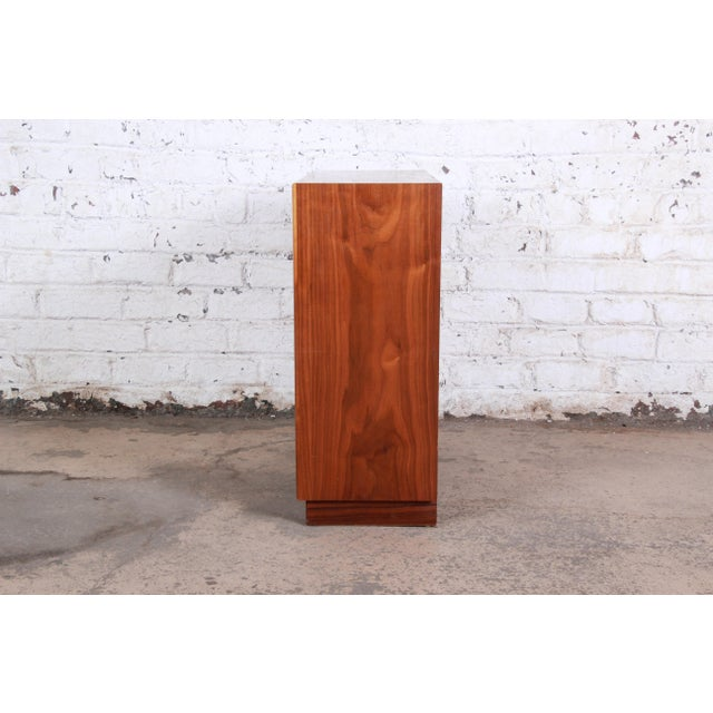 Kipp Stewart for Drexel Declaration Mid-Century Modern Walnut Cabinet, 1965 For Sale - Image 9 of 12