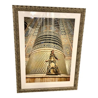 Fred Maroon Afghanistan: The Great Mosque at Herat Framed Limited Edition Print For Sale