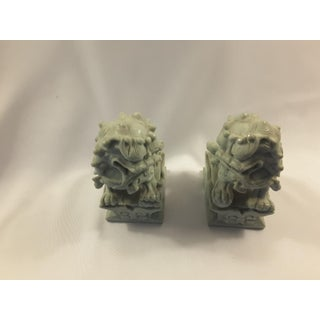 Early 20th Century Antique Jade Foo Dogs - A Pair Preview